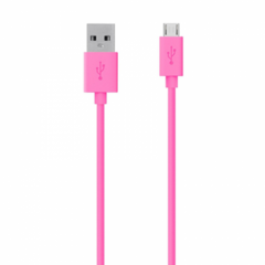Belkin MixIt Colour Range Micro USB 2m Cable - Pink