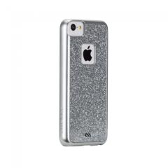 Case-Mate Glimmer iPhone 5c Case - Silver