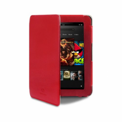 Terrapin Leather Fire HD (2013) Case - Red