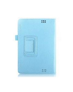 KOLAY Leather Fire HD (2013) Case - Light Blue