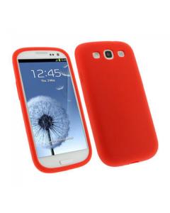 KOLAY Gel Galaxy S3 Case - Clear Red
