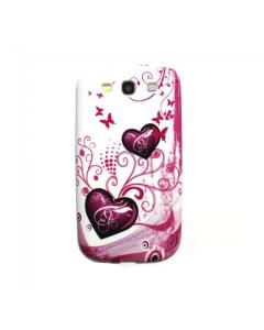 KOLAY Hearts Galaxy S3 Case - White