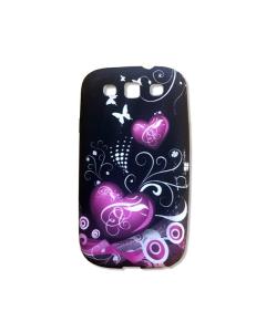 KOLAY Hearts Galaxy S3 Case - Black