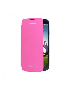 Official Samsung Galaxy S4 Mini Flip Cover - Pink