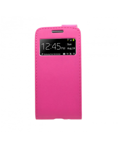 Ryse Flip with Smart View Galaxy S4 Mini Case - Pink