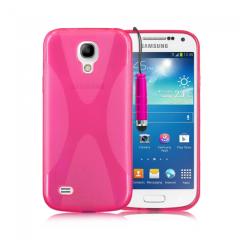 Ryse X-Line Gel Galaxy S4 Mini Case - Pink
