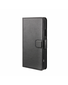 XQISIT Slim Wallet Galaxy S5 Case - Black