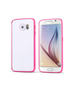 MPA Frosted Back Galaxy S6 Case - Hot Pink