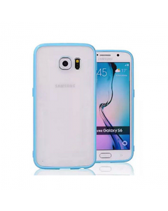 MPA Frosted Back Galaxy S6 Case - Light Blue