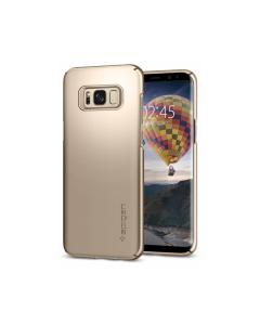 Spigen Thin Fit Galaxy S8 Plus Case - 571CS21674 - Gold Maple