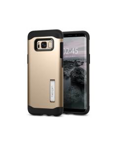 Spigen Slim Armor Galaxy S8 Case - 565CS20832 - Gold Maple