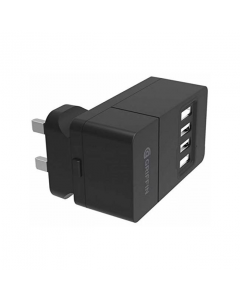 Griffin 4 Port Mains Charger - Black