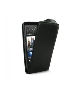 KOLAY Leather Flip Desire 500 Case - Black