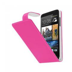 KOLAY Leather Flip Desire 500 Case - Pink