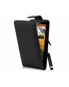 KOLAY Leather Flip One X / XL Case - Black