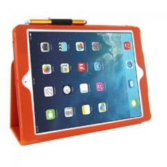 KOLAY Leather PU Folding iPad Air Case - Orange