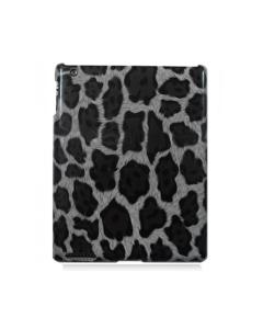 KOLAY Leopard iPad Case - Black & Grey