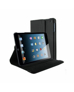 KOLAY Leather Rotating iPad Mini Case - Black