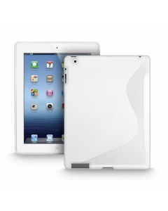 Ryse S-Line Gel iPad Mini Case - White