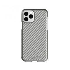 Ocean75 Ocean Wave Protective Shell iPhone 11 Pro Case - Dolphin Grey