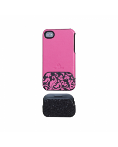 Glamrox Night and Day iPhone 4 / 4S Case - Pink and Lace