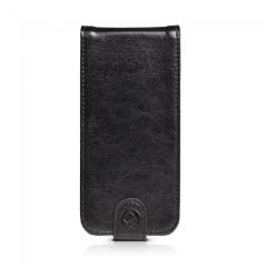 Gear4 Leather Flip iPhone 5c Case - Black