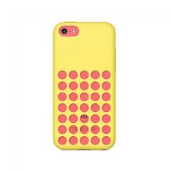 MPA Retro Dot iPhone 5c Case - Yellow