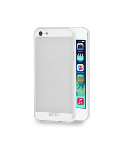 Azuri Transparent iPhone SE (2016) / 5S / 5 Case - Clear