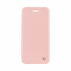 XQISIT Adour Flap iPhone SE (2020) / 8 / 7 Cover - Rose Gold