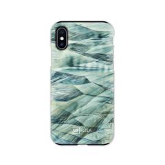 UPROSA Caffeine Waves Tough Line iPhone XS / X Case