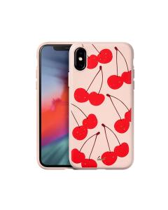 LAUT Tutti Frutti iPhone XS Cover - Pink