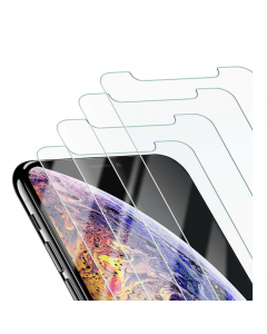 Beikell 4 Pack Tempered Glass iPhone XS Max Screen Protector - Clear