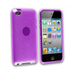 MPA Swirl Gel iPod Touch 4G Case - Purple