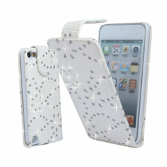 MPA Diamante Flip Touch 5G / 6G Case - White