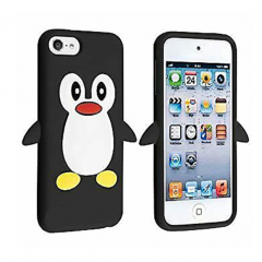 KOLAY Penguin iPod Touch 5G / 6G / 7G Case - Black