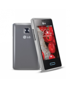 Sonivo Gel Optimus L3 II Case - Smokey