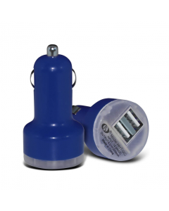 MPA Dual USB In-Car Charger / Adapter - Dark Blue