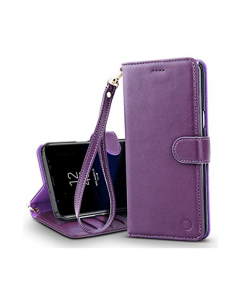 Belk Elegant Concise Book Galaxy Note 8 Case - Purple