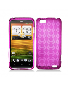 MPA Diamond Gel One V Case - Pink