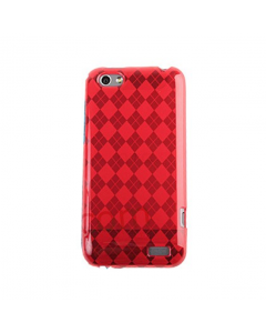 MPA Diamond Gel One V Case - Red