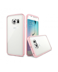 MPA Frosted Back Galaxy S6 Edge Case - Light Pink