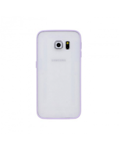 MPA Frosted Back Galaxy S6 Edge Case - Purple