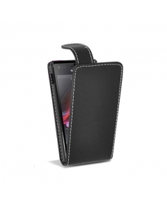 MPA Flip  Xperia M Case - Black