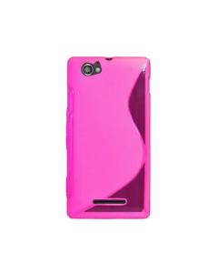 MPA S-Line Gel Xperia M Case - Pink
