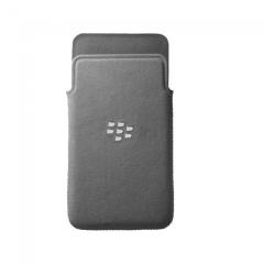 Official Blackberry Z10 Microfibre Pocket - Grey