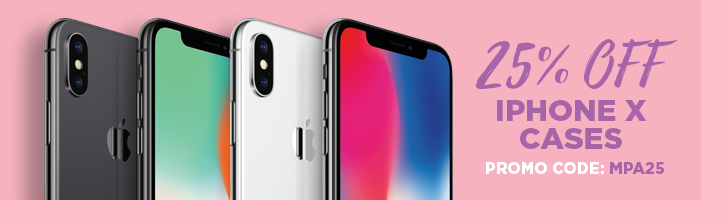 25% off iPhone X Cases